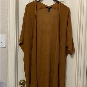 F21- longline cardigan